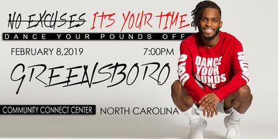 """DANCE YOUR POUNDS OFF \""""GREENSBORO,NC\"""""""