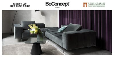 VIP Pre Grand Opening BoConcept Coral Gables