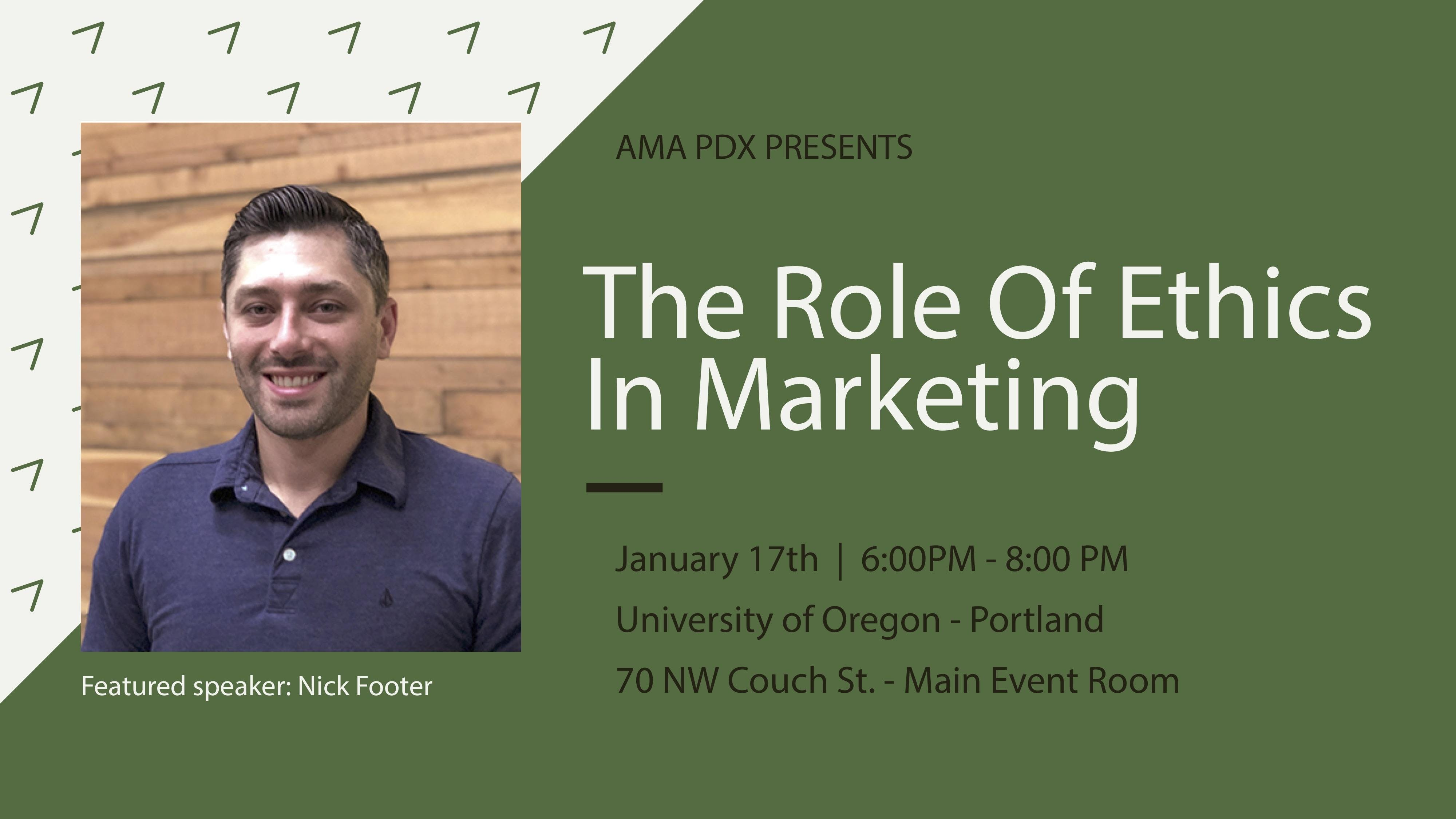 role of ethics in marketing