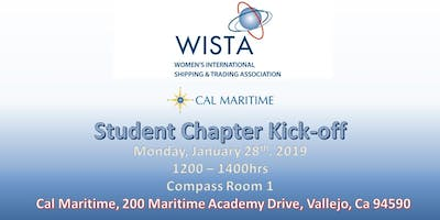 Cal Maritime WISTA Student Chapter Kick-off