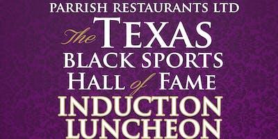 2019 Texas Black Sports Hall of Fame Sponsorship