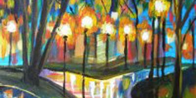 1/18 - Rainy Reflection @ Riverfront Spokane Sky Ribbon Cafe, SPOKANE