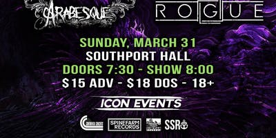 The Browning, Betraying The Martyrs, Extortionist & More at Southport Hall