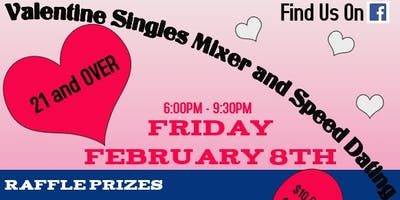 Valentine Singles Mixer and Speed Dating