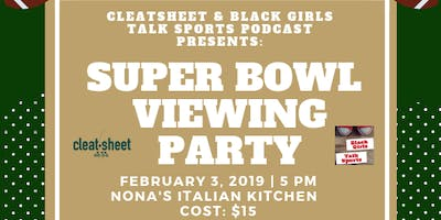 Sips & Sports: Super Bowl Viewing Party!