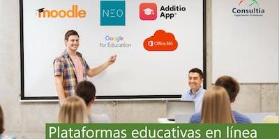 Plataformas educativas en línea