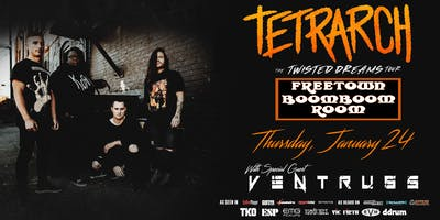 Tetrarch at Freetown Boom Boom Room