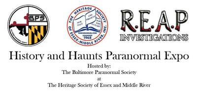 History and Haunts Paranormal Expo