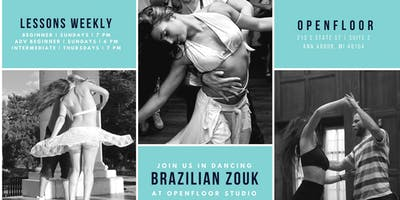 Brazilian Zouk Beginner Zouk Lesson Series