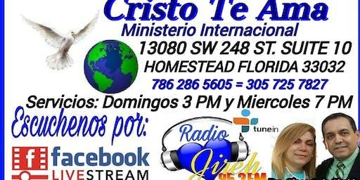 Iglesias cristianas en Homestead/Ministerio Cristo te ama Homestead