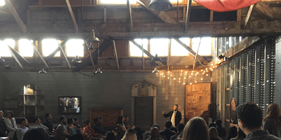 Super Stacked: Free Comedy in a Woodshop! (ONE YEAR SHOW)