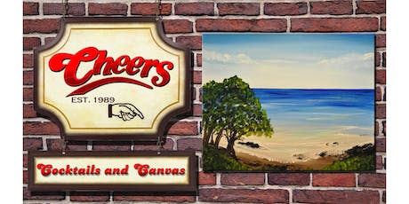 Cheers Cocktails and Canvas July! tickets