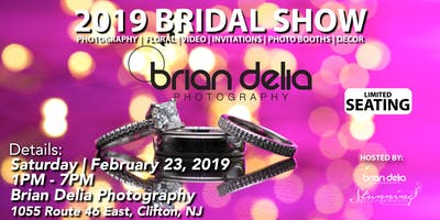 2019 Bridal Show at Brian Delia Photography!