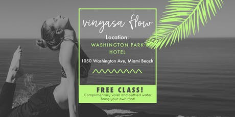 Vinyasa Flow - FREE Yoga tickets