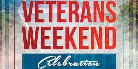 Veterans Weekend Celebration tickets