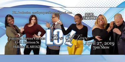LOL Live off Love Gospel Stage Play - VIP Ticket