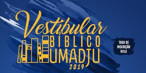 Vestibular Bíblico Umadju - 2019