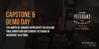 WeWork Veterans in Residence Powered by Bunker Labs: SF Capstone & Demo Day