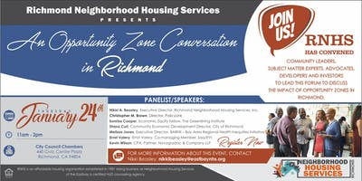 An Opportunity Zone Convening in Richmond!