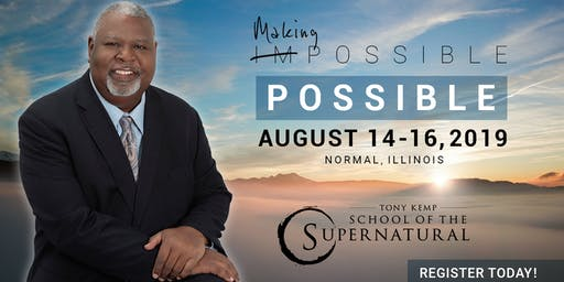 Tony Kemp's School of the Supernatural | Making Impossible - Possible