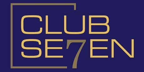 Club Seven Sydney CBD Event Thursday 24 October 2019 tickets