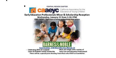 Central Region of the CAAEYC Early Education Professionals Mixer & Scholarship Reception