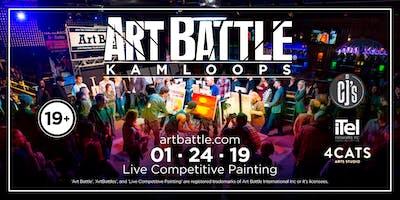 Art Battle Kamloops - January 24, 2019