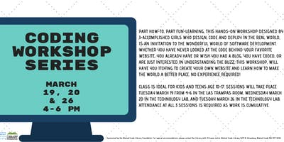 Free Coding Workshop for Ages 10-17