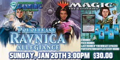 MTG Ravnica Allegiance Two-Headed Giant Afternoon Prerelease