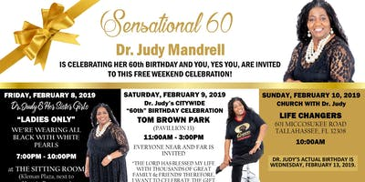 """DR. JUDY & HER SISTER GIRLS (""""LADIES ONLY"""")"""