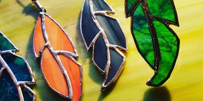 Stained Glass Mini Feathers Class by AGITSI,  Cherokee Artist/Intructor