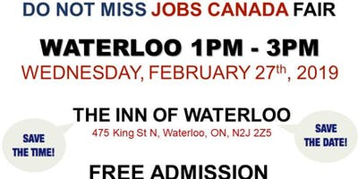 Waterloo Job Fair - February 27th, 2019