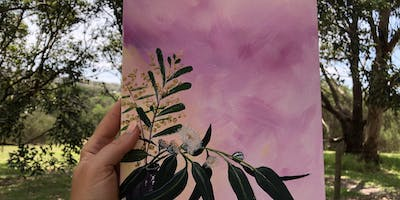 Painting - Connecting with Nature