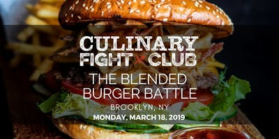 Culinary Fight Club - BROOKLYN: The Blended Burger Battle