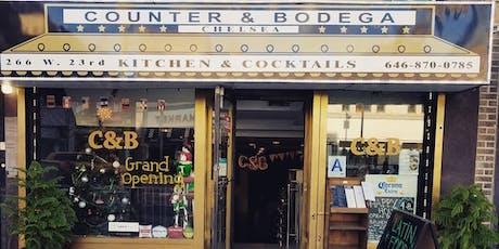 Boozy Brunch & Day Party( Counter & Bodega)Best Latin Restaurant In Chelsea tickets