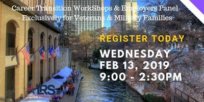 Career Transition Workshop for Veterans & Military Families by LeftRightStep.org - Feb 2019