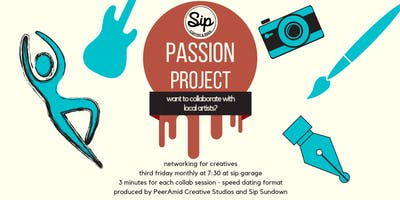 Passion Project: Artist Speed Dating