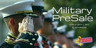 Military Family Presale - JBF Roseville Spring 2019 $2 Admission (paid at the door)