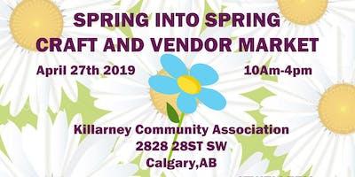 Spring into Spring Craft Market