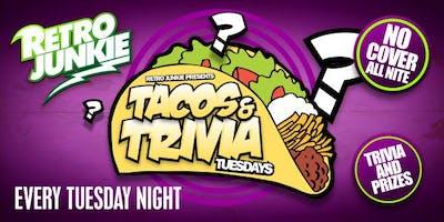 Trivia Taco Tuesdays! Win Prizes w/ $2 Tacos $3 Coronas
