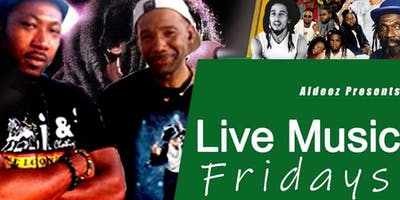 Live reggae band every Friday