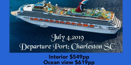 2019 Bahamas Cruise tickets