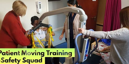 Patient Moving Course - info@safetysquad.ie