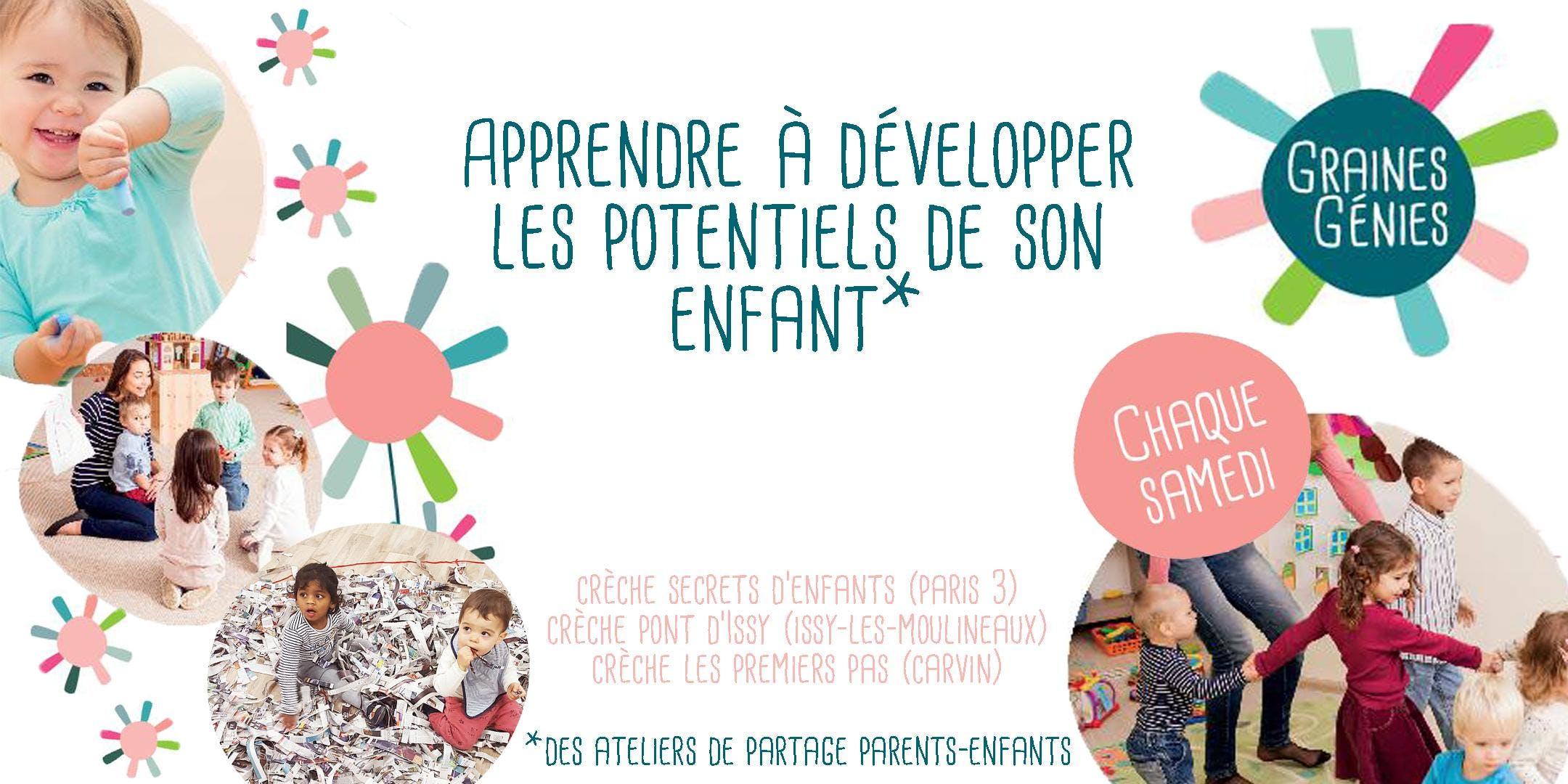 Ateliers parents-enfants-professionnels Grain