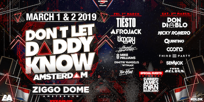Dont Let Daddy Know - March 1 & 2 2019