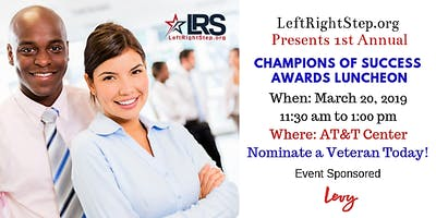 1st Annual Champions of Success Awards Luncheon