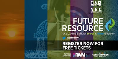 Future Resource 2019 - The Event for Water & Energy Efficiency