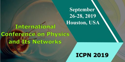 International Scientific sessions on Physics Networks