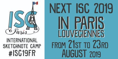 International Sketchnote Camp 2019 #ISC19FR tickets