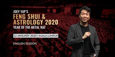 Joey Yap's Feng Shui & Astrology 2020 (Kuala Lumpur) - English Session tickets